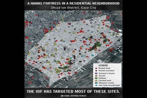 Hamas Fortress Map