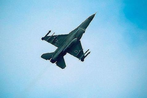 IAF fighter jet heads to  Gaza.