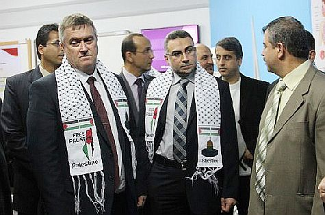 Palestinian Arab media manipulation trapped British Consul-General of Jerusalem Alastair McPhail into making a political statement -- or did it?