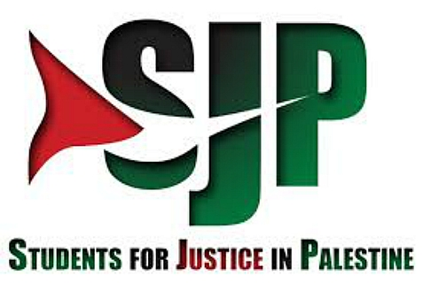 A member of Students for Justice in Palestine punched a pro-Israel student in the face at Temple University, Aug. 20, 2014.