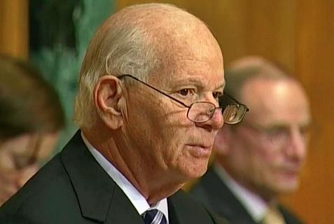 Maryland Democratic Senator Ben Cardin.