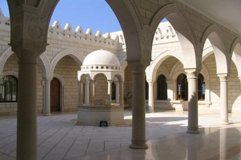 Inside Yitro's Tomb