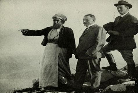 U.S. Ambassador to Turkey Henry Morgenthau Sr. pictured in Turkish-ruled Palestine.