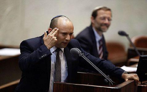 """Naftali Bennett accused Kerry of """"encouraging global terror."""""""
