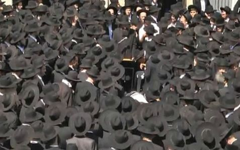 Eulogy at funeral fro Lakewood, New Jersey Yeshiva student Aaron Sofer.