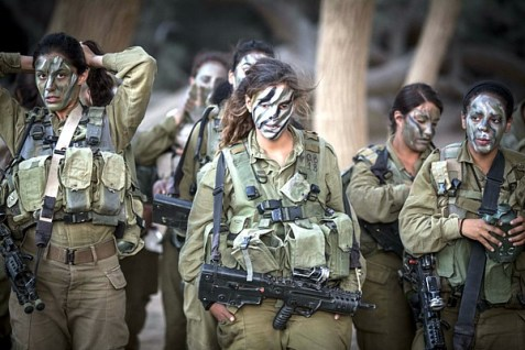 Girls IDF Caracal 1
