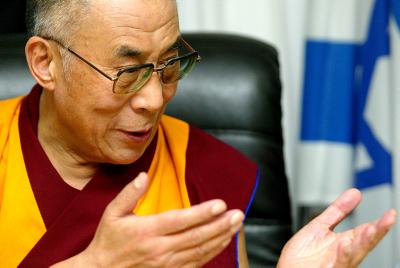 Tibets spiritual leader Dalai Lama.