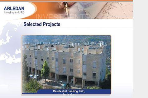 Arledan shows off its properties in the southern Jerusalem neighborhood of Gilo.