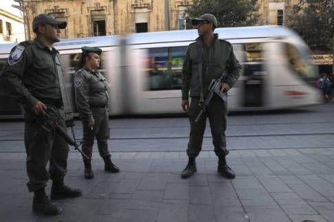 Israel Police have tightened security around the Jerusalem Light Rail .