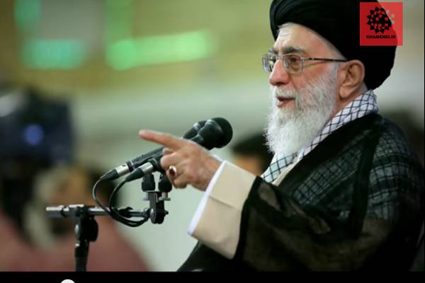 Iran's Supreme Leader Ali Hosseini Khamenei