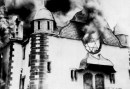 Burning Synagoge Kristallnacht 9 November 1938