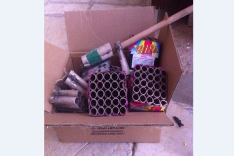 Fireworks Launchers on Temple Mount