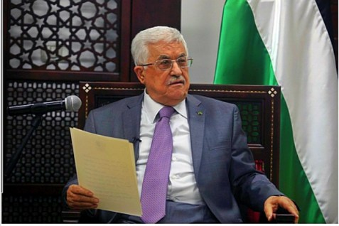 PA acting leader Mahmoud Abbas, July 6, 2014.