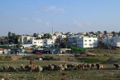 Rahat, the largest Bedouin city in Israel.
