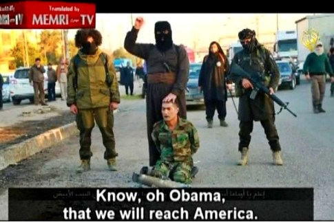 ISIS murderers threatening Obama