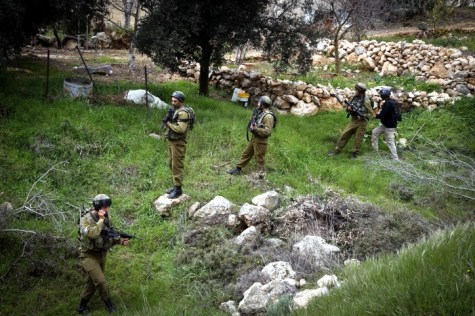 IDF Training in Efrat Woods