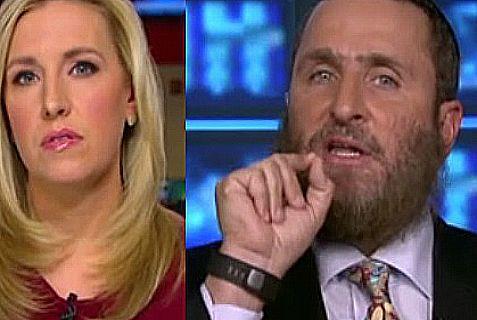 CNN's Poppy Harlow and Rabbi Boteach.