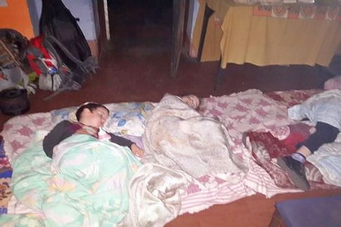 Children are asleep at last as adults in the Chabad House continue to deal with the crisis in Nepal.