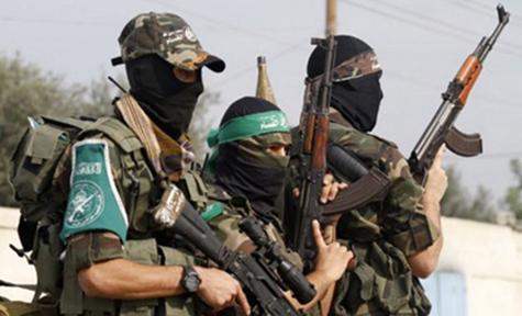 Hamas terrorists.