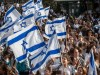 Israelis wave Israeli flags during a march celebrating Jerusalem Day in the streets of Jerusalem. (file)