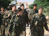 Kurdish Female YPG Fighters