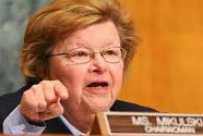 Sen.Barbara Mikulski, the infamous #34