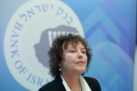 Karnit Flug, Governor of the Bank of Israel.