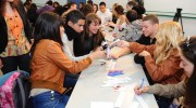 A workshop for young Arabs and Jews sponsored by the US embassy in Israel.
