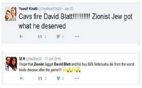 Anti-Semitism flooded social media after the firing of Israeli-American NBA head coach David Blatt.