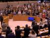 Abbas standing O at the EU