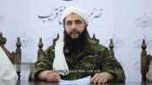 Abu Muhammad al-Julani making his announcement / Screenshot