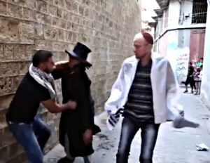 Arab stabbing Black Hat