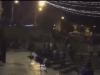 Arabs cheering at Damascus Gate in Jerusalem