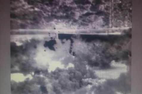 Ariel security camera caught Arabs starting a fire near Ariel. Nov 25, 2016