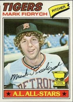 1977 Topps baseball card