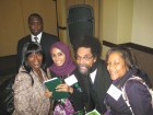 Dr. Cornel West with fans / Photo credit: York College ISLGP