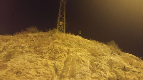 Electric tower near Maaleh Adumim
