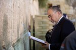 Defense Minister Avigdor Liberman at the Kotel. May 30, 2016