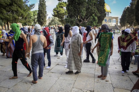 Jihadists on Temple Mount