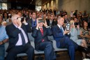 Netanyahu, Rivlin, Peres and VR glasses
