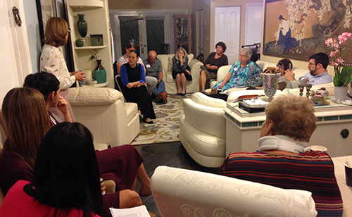Amit meeting in Florida.