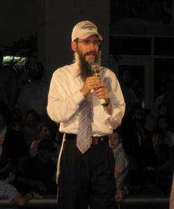 Avraham Fried at previous Chabad of South Broward Chanukah festival.