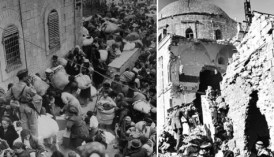 In May 1948, the Jordanian Arab Legion expelled all of the approximately 2000 Jews who lived in the Old City of Jerusalem, and then turned the Jewish Quarter into rubble.