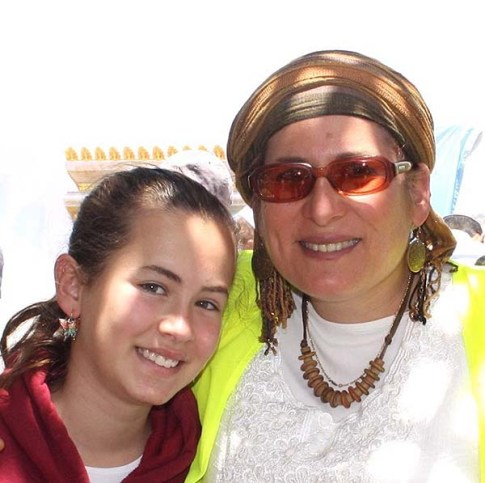Hallel Ariel and her mother Rina Ariel