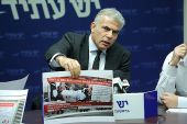 Yesh Atid party chairman Yair Lapid.