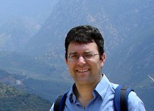 In Delphi, Greece before his conversion