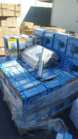 Shipment of metal piped for rockets and mortars intercepted leaving Hebron for Hamas in Gaza.