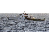 Israeli Navy boarding a vessel off the Gaza Strip, November 04, 2011 / Photo credit: IDF