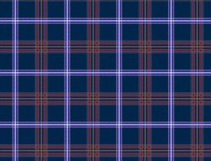 Official kosher Jewish tartan registered to the Scottish National Register of Tartan in the name of the Jewish Community of Scotland.