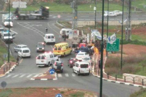 Attack nar Kiryat Arba - March 14, 2016